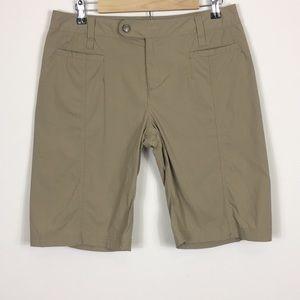 Royal Robbins Khaki Bermuda Shorts